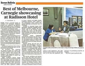 Best Of Melbourne Carnegie Showcasing At Radisson Hotel - Borneo Bullentin
